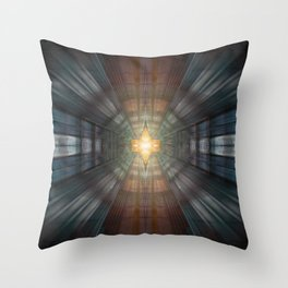 Platinum Overdrive Throw Pillow