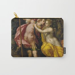Hendrick De Clerck Venus And Adonis Painting Carry-All Pouch