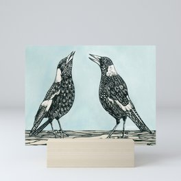 Magpie Song Mini Art Print