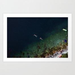 Untitled. Lago di Garda Veneto. Art Print