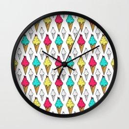 I love ice-cream Wall Clock