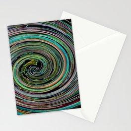 Hypnotic vortex Stationery Cards