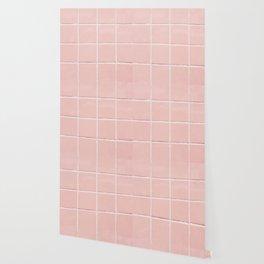 Pink Wall Wallpaper