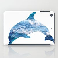 dolphin iPad Cases featuring Dolphin by Inna Trifonova