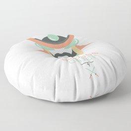 Shogun Grief (Japan Contrasts series) Floor Pillow