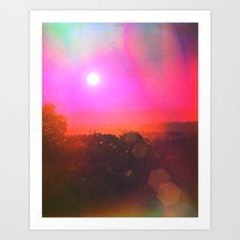 Bloo Woods Art Print