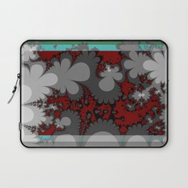 comic flowers growing up up up Laptop Sleeve
