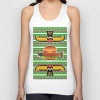 alaska Tank Tops featuring Alaska Burger by milanova