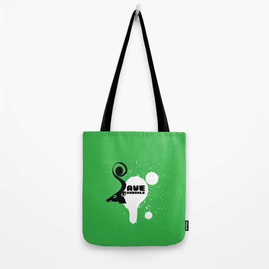 SAVE ANIMALS Tote Bag