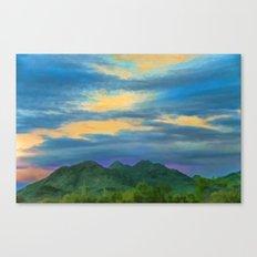 Speechless Desert Singing Canvas Print