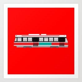 Toronto TTC Streetcar Art Print