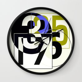 SRC Preparations Race Numbers One Wall Clock