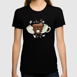 Coffee Shock - Funny Coffee Bean Gifts for Coffee Lovers T-shirt