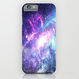 Starry Galaxy Space - Untouchable Vastness iPhone Case