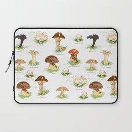Edible Mushrooms Laptop Sleeve