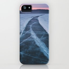 Bearspaw Reservoir iPhone Case