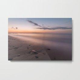 Long exposure dusk Metal Print