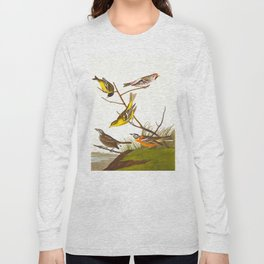 Arkansaw Siskin Bird Long Sleeve T-shirt