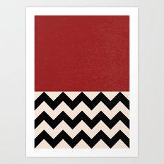 Black Lodge Art Print
