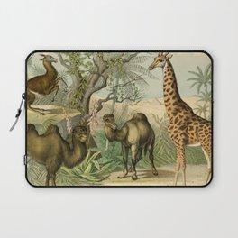 Giraffe and Friends Laptop Sleeve