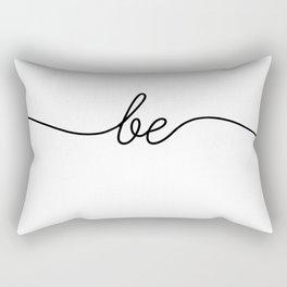 be still (1 of 2) Rectangular Pillow