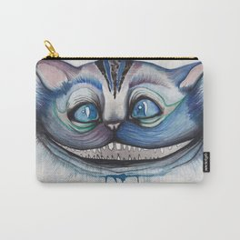 Cheshire Cat Grin - Alice in Wonderland Carry-All Pouch