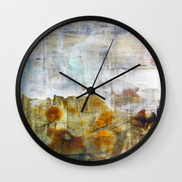 Landscape Abstract Painting Wall Clock