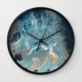 Cresting Wave Wall Clock