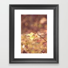 Autumn Child Framed Art Print