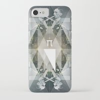 pi iPhone & iPod Cases featuring pi by Anna Pietrzak