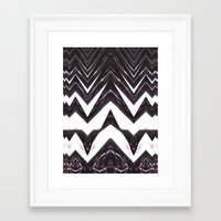 mad Framed Art Prints featuring mad by christian acuna
