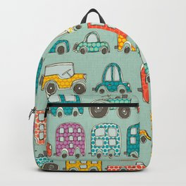 retro rides mint Backpack