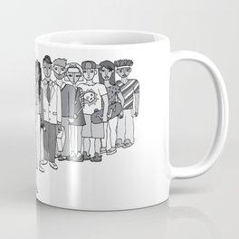 Fulanos waiting for their turn Coffee Mug