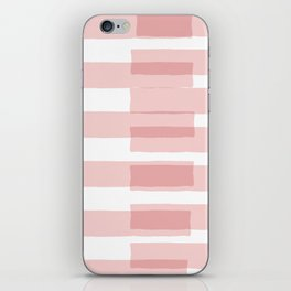 Big Stripes in Pink iPhone Skin