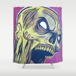 Zombie Attack! Shower Curtain