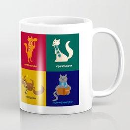 Hogwarts Cat Houses Coffee Mug
