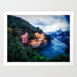 Portofino Che Bellezza! Art Print