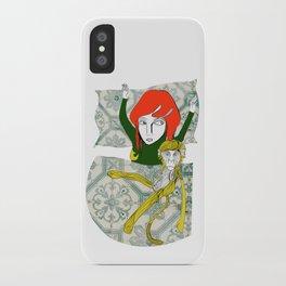 Tina&Ape iPhone Case