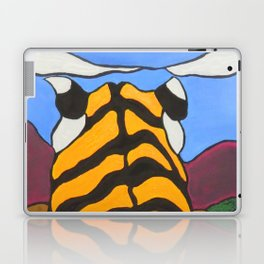 Stain glass Tiger Laptop & iPad Skin