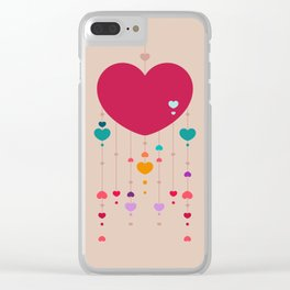 Dream Catcher Clear iPhone Case