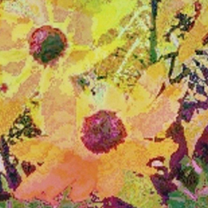 Gert's Watercolor Daisies Leggings