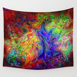 Lava Lamp Wall Tapestry