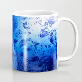 Blue Marble Dream Abstract Coffee Mug