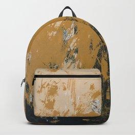 16 x 20 yellow-buff-black Backpack