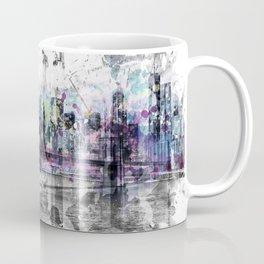 Modern Art NEW YORK CITY Skyline   Splashes Coffee Mug