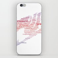 fairy tail iPhone & iPod Skins featuring A Fairy Tail by Eymica88