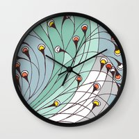 lights Wall Clocks featuring lights by colli13designs