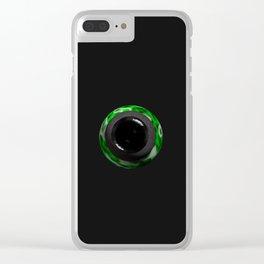 Alien Eye Clear iPhone Case