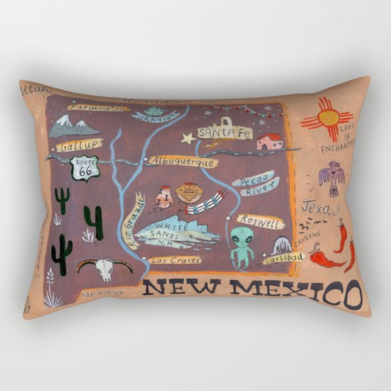 New Mexico map by chengel