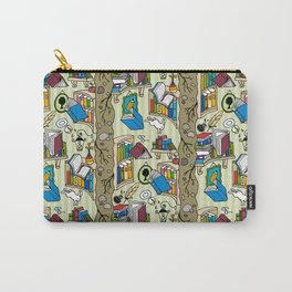 Books: Through the rabbit hole Carry-All Pouch